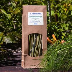 Fenouil sauvage de provence - anethum foeniculum - bois - sachet de 50 gr