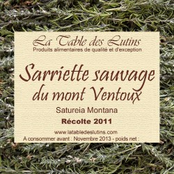 Sarriette sauvage du Mont Ventoux - sommités  - sachet de 20 gr