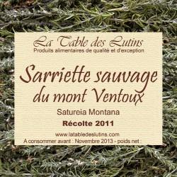 Sarriette sauvage du Mont Ventoux