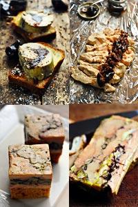 Tartelettes figues, jambon cru et chèvre
