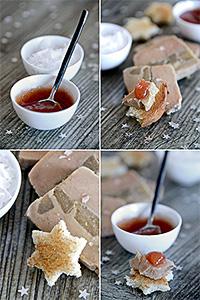 Foie gras aux coings de B comme Bon